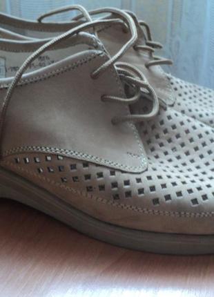 Женские ботиночки мокасины размер 40