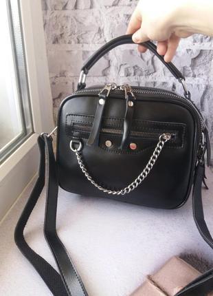 Шкіряна сумка кожаная женская сумка из натуральной кожи
