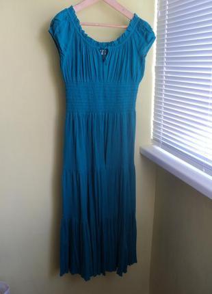 Чудесное летнее платье размер 50-54