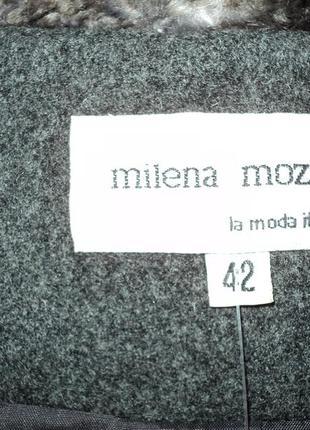 Полушерстяное итальянское пальто от milena mozart размер: 52-x...