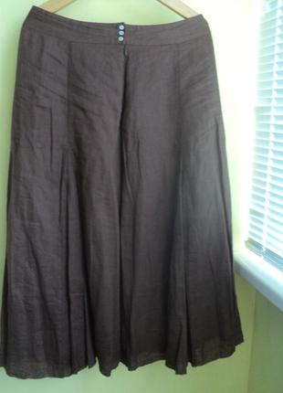 Тройка- бриджи,юбка, блузка размер 50-52