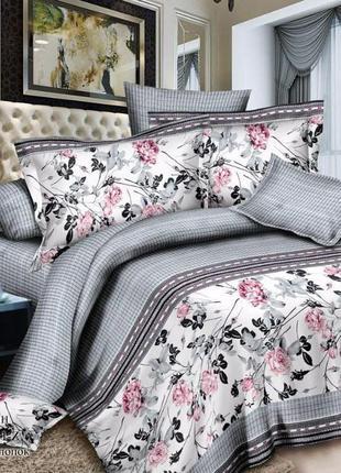 Комплект  постельного  белья «Ночная роза»