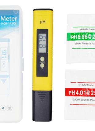 Ph метр тестер с автокалибровкой измеритель кислотности воды.
