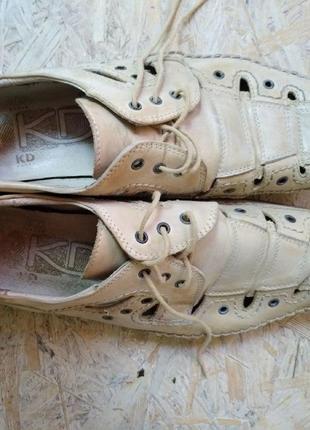 Мужские летние туфли размер 43
