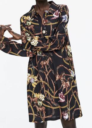 Сукня-сорочка zara