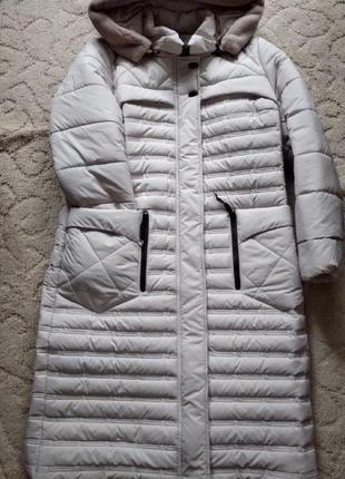 Европейская зима,осень женское пальто размер 52
