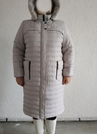 Европейская зима,осень  женское пальто размер 54