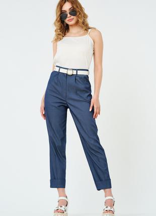 Летние женские брюки укороченные