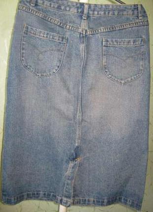 Юбка джинсовая размер 48-50