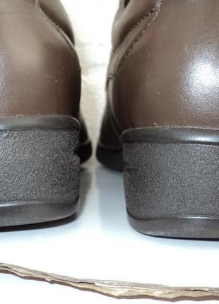 Туфельки женские кожа,размер 40