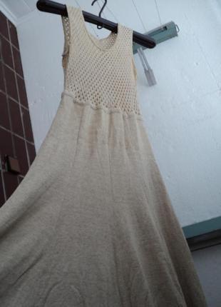 Платье ,размер 48-50 трикотажный лен