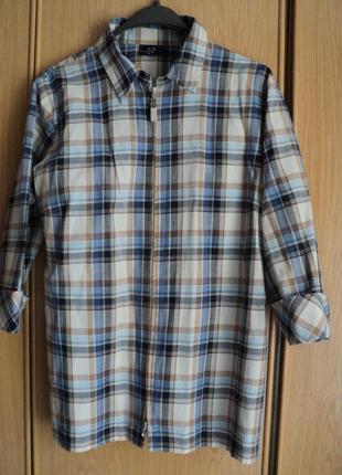 Блузка на молнии размер 50