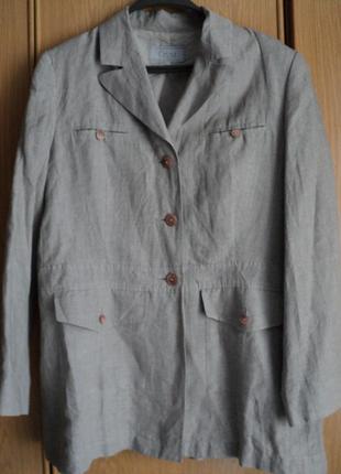 Пиджак лен размер 50