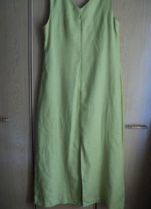 Платье лен размер 54