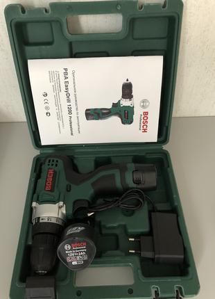 Аккумуляторный дрель-шуруповерт Bosch EasyDrill 1200