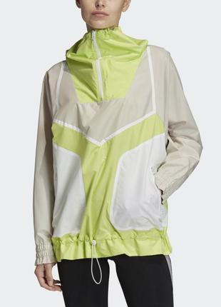 Женская желтая анорак adidas by stella mccartney fk9677
