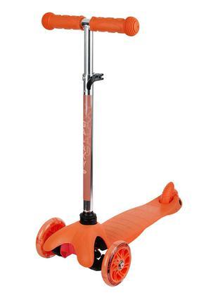 Самокат триколісний (Оранжевий)