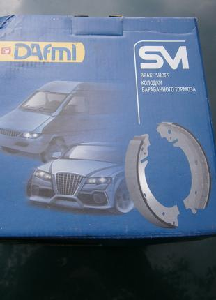 DAFMI Колодки тормозные задние (4шт) ВАЗ 2101-07