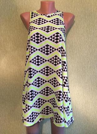 Платье трапеция ribbon размер 8