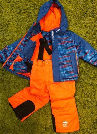 Термо комплект куртка и полукомбинезон lupilu германия