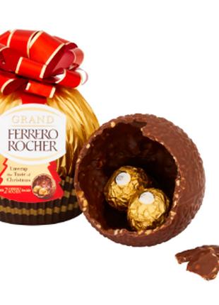 Ферреро Роше шар Ferrero Rocher 125 g из молочного шоколада презе