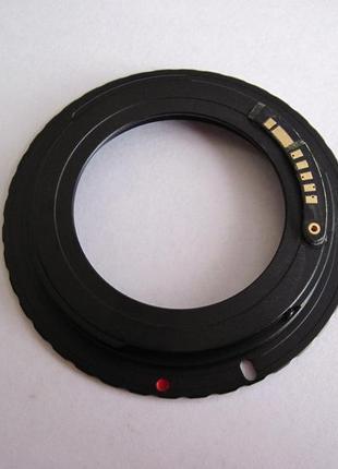 Переходник для объектива M42 - EOS с чипом подтверждения фокусиро