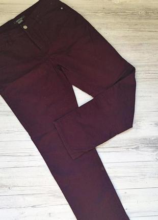 Штаны брюки бордовые adagio