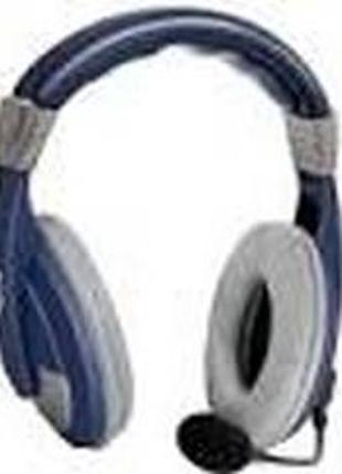 Накладные наушник с микрофоном Defender HN-750 Blue