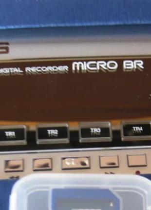 Микро студия гитарная Boss MICRO BR+чехол