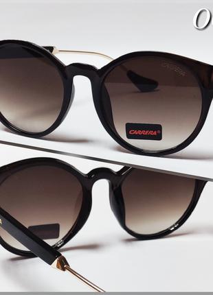 Солнцезащитные  очки коричневые