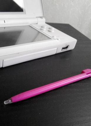 Стилус Nintendo DS Lite DSi Темно Розовый Stylus (old 3ds xl)