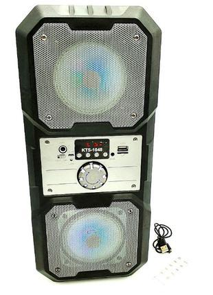 Большая Аудиосистема Bluetooth колонка KTS - 1048