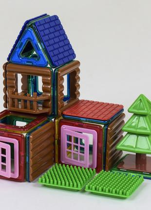 Конструктор Магнитный 3D Домик На Дереве JH 8863