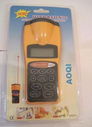 Ультразвуковая рулетка, дистанционный измеритель расстояния и ...
