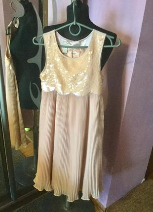Нарядное детское платье для девочки 11-12 лет