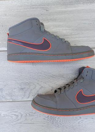 Nike мужские высокие кроссовки кожа оригинал весна