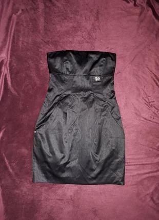 Плаття чорне міні коктельне вечірнє, сукня, платье miss sixty ...