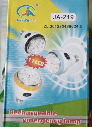 Лампочка акумулятор