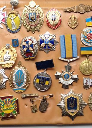 Колекція Нагород Знаків значків України