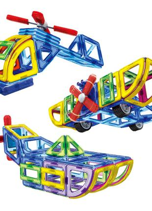 Конструктор Магнитный 3D Транспорт LT5001
