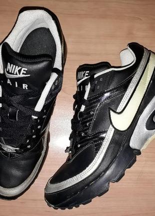 Nike air max airmax кросівки чорні кроссовки чорние взуття туф...