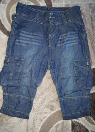 Бриджі джинсові, бриджи джинсовие джинси, шорти, брюки, штани,...