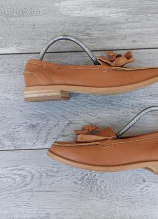 Женские кожаные туфли лоферы petasil оригинал весна лето