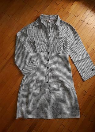 Плаття tally weijl сукня платье сорочка туніка блузка в полоск...