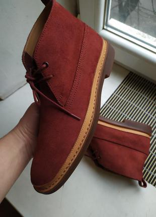 Продам  мужские кожаные ботинки clarks дизерты