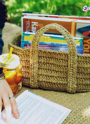 Коврик и корзинка для пикника