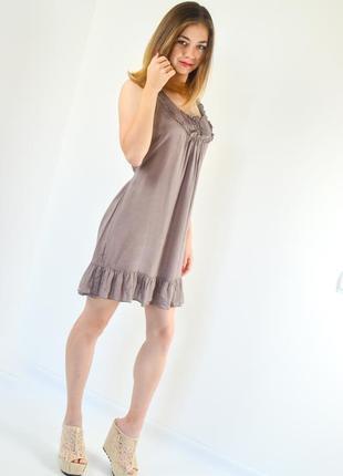 Акция dorothy perkins свободное платье-трапеция без рукавов из...