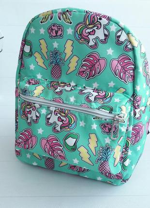 Модный рюкзак для девочки с поняшками