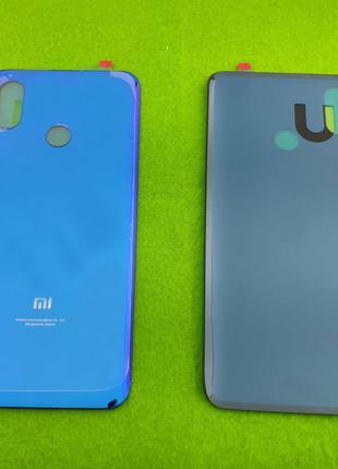 Задняя крышка корпуса Xiaomi Mi 8, синяя