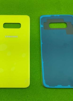 Задняя крышка корпуса Samsung Galaxy S10e, желтая